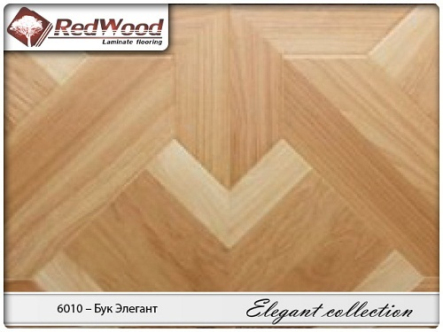Ламинат RedWood коллекция Elegant collection 6010 - Бук Элегант