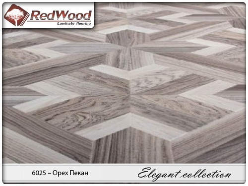 Ламинат RedWood коллекция Elegant collection 6025 - Орех Пекан