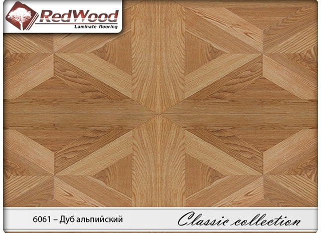 Ламинат RedWood коллекция Classic collection 6061 - Дуб Альпийский