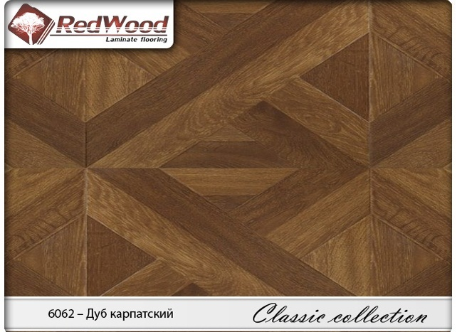 Ламинат RedWood коллекция Classic collection 6062 - Дуб Карпатский