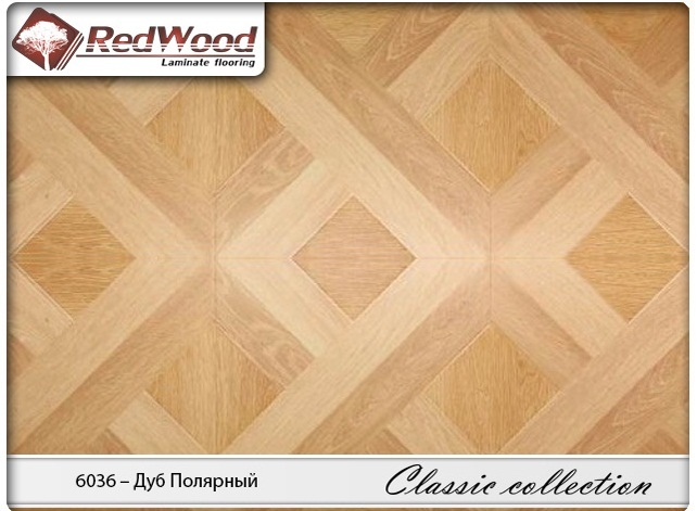 Ламинат RedWood коллекция Classic collection 6036 - Дуб Полярный